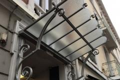 Fabricant de marquise en acier et verre a Annecy