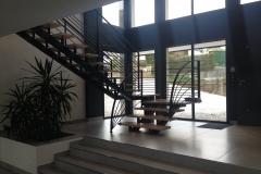 Fabricant escalier contemporain a Annecy